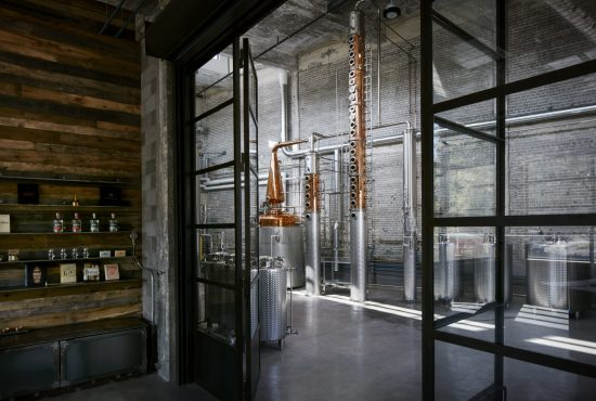 Tasting Room into Distillery
